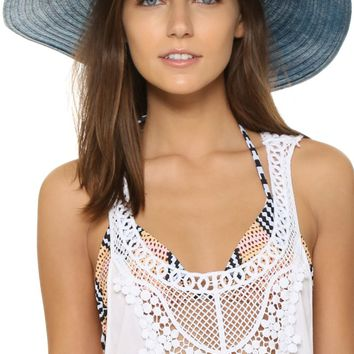Patterned Band Hat