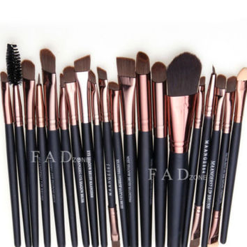 20 Pcs Makeup Brushes Set