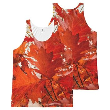 Autumn Beauty All-Over Print Tank Top