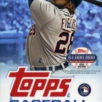 2013 Topps Series 1 MLB Baseball Massive 36 Pack Hobby Box with 360 Cards. Includes Autograph or Game Used Relic Card