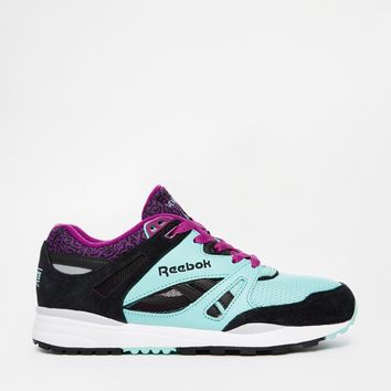 Reebok Ventilator Collective Blue & Purple Trainers
