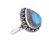 Paradise Labradorite Ring in Sterling Silver