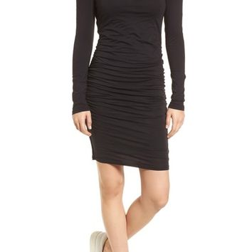 Velvet by Graham & Spencer Gauzy Whisper Cold Shoulder Dress | Nordstrom