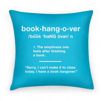 BOOK HANGOVER PILLOW - PREORDER