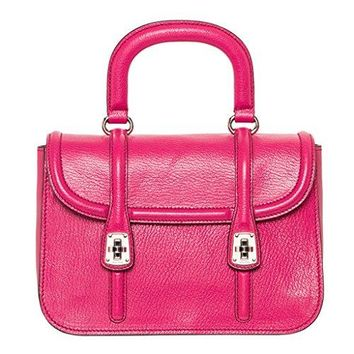 Miu Miu Women's Madras Textured- Shoulder Bag Fuchsia