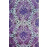 Purple Psychedelic Eyes Tapestry