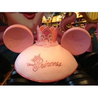 Disneyland Resort Classic Princess Pink Colored Mickey Ears Hat - Disney Parks Exclusive & Limited Availability