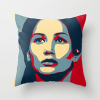Hunger Games - Hope Throw Pillow by Flash Goat Industries