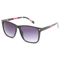 Full Tilt Nika Sunglasses Black Combo One Size For Women 23532114901