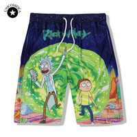 Rick and Morty- Board Shorts