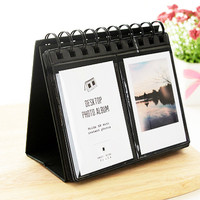 Polaroid Photo Album Fujifilm Instax Mini Film Holder Display Stand Black