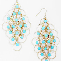 ModCloth Statement Hoop's Number One? Earrings