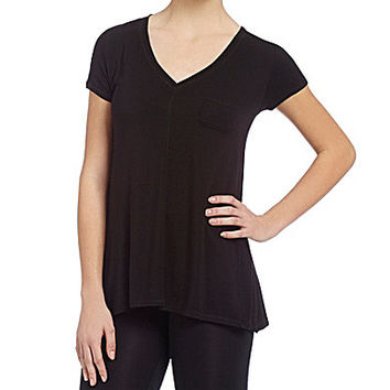 DKNY Lounge Urban Essentials Short-Sleeve Top