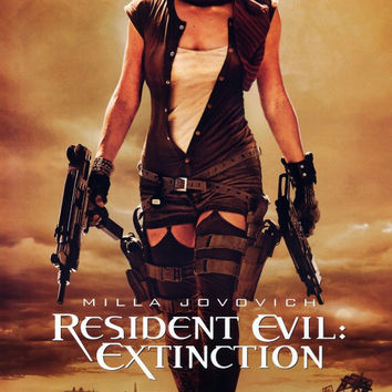 Resident Evil: Extinction 11x17 Movie Poster (2007)