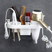 Self-Adhesive Bathroom Wall Mounted Shelf Organizer