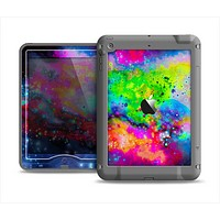 The Neon Splatter Universe Apple iPad Mini LifeProof Nuud Case Skin Set