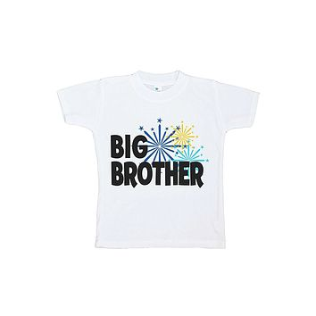 Custom Party Shop Kids Big Brother Happy New Year T-shirt