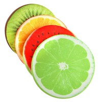 Christmas Gift 3D Simulation Fruit Cushion 32*5CM Round Pillow Chair Seat Sofa Meditation Floor Cushions For Home Decoration