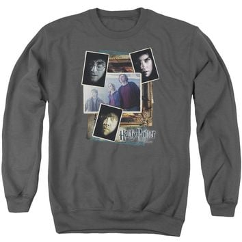 Harry Potter - Trio Collage Adult Crewneck Sweatshirt Officially Licensed Apparel