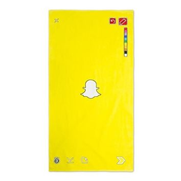 Official Snapchat Beach Towel