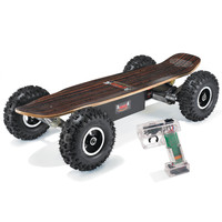 The All Terrain Electric Skateboard - Hammacher Schlemmer