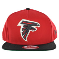 NEW ERA ATLANTA FALCONS FLIP UP 9FIFTY SNAPBACK CAP
