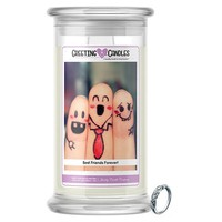 Best Friends Forever! Jewelry Greeting Candle