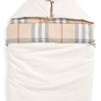 Infant Burberry 'Lena' Baby Nest