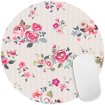 Pink Bouquet Mouse Pad Decal