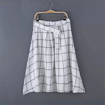 Summer Women's Fashion High Rise Umbrella Dress Skirt [4920251332]