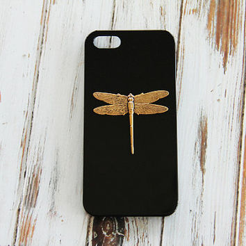 Hipster iPhone 5 Case Hip iPhone 5s Cover Trendy iPhone 6 Case Popular Galaxy S5 Samsung S4 Girly Cell Phone Dragonfly iPhone 4 4s Insect