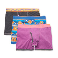 Bottoms Out Men's Bottoms Out Volume Boxer Brief (3 Pack) -