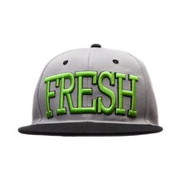 Mens Fresh Snapback Hat, Silver, at Journeys Shoes