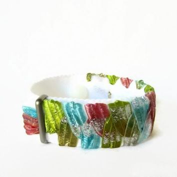 Anxiety/Stress Relief Bracelet (single band) Pastel Shimmer