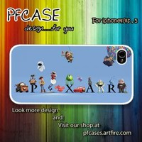 Character of Pixar Case For Iphone 44s 5 Samsung S234 by pfstore on Zibbet