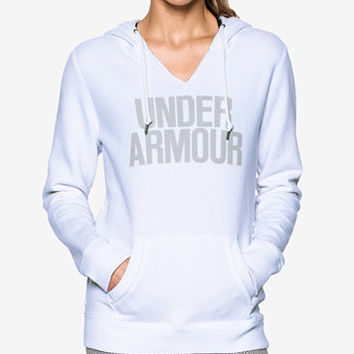 Under Armour Favorite Fleece Logo Pullover Hoodie | macys.com