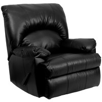 Flash Furniture Contemporary Apache Black Leather Rocker Recliner [WM-8500-371-GG]