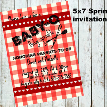 baby q sprinkle invitations printable digital coed baby sprinkle gender neutral