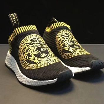 Adidas NMD x VERSACE Fashion Casual Trendy Sneakers F