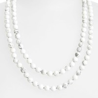 Women's Nordstrom Long Semiprecious Necklace