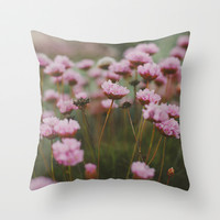 Pale Pink Throw Pillow by Hello Twiggs