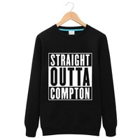 Straight Outta Compton NWA California GOTHIC Eazy E NWA Dr. Dre hip hop  FleeceAutumn winter men and women couple sweatshirts