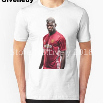 Paul Pogba Mens & Womens football Sport Casual T Shirt Personalized T Shirt
