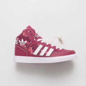 [Free Shipping] Adidas Originals Extaball Leather Trainers