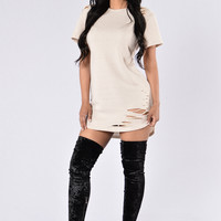 Mass Destruction Tunic - Oatmeal