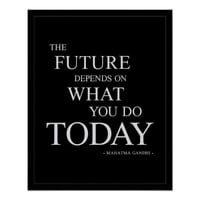 The Future-Inspirational Motivational Poster 16x20