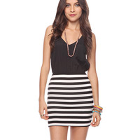Striped Combo Dress | FOREVER21 - 2015036042