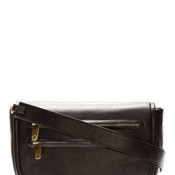 Marc By Marc Jacobs Black Leather Luna Crossbody Bag