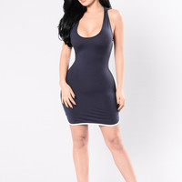 Spice It Up Dress - Navy