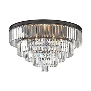 15226/6 Palacial 6 Light Chandelier In Oil Rubbed Bronze